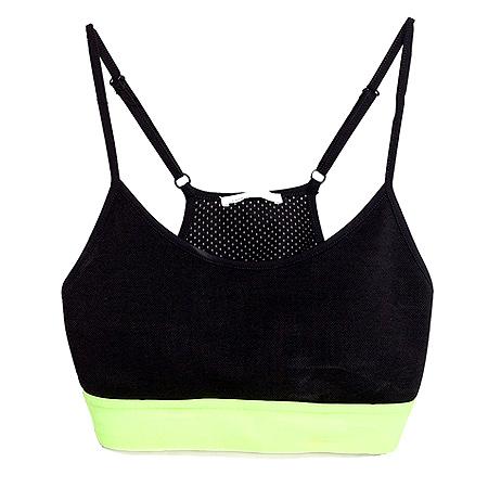 Zara Neon Sports Top