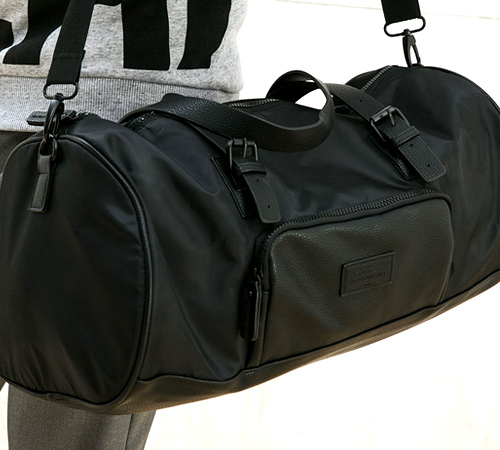Imitation Leather Street Bag (P1,995) from Bershka