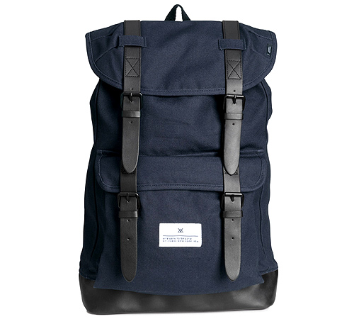 Navy Backpack (P1,690) from H&M