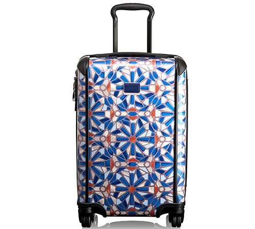 Tegra-Lite International Carry-On in Cayenne Tile Print from TUMI
