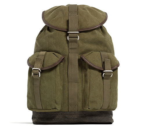 Backpack with pockets (P3,790) from Zara