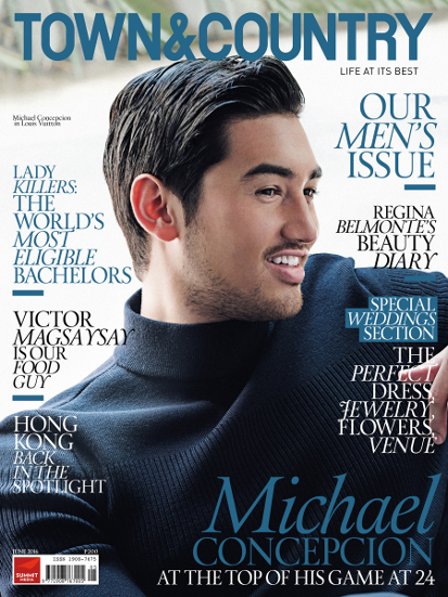Michael Concepcion Town & Country Bachelors List 2016