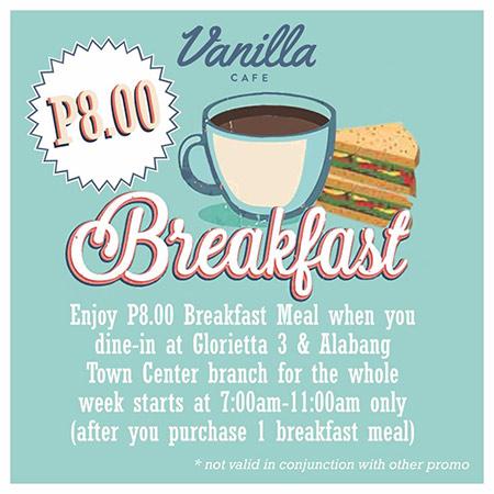 Vanilla Breakfast