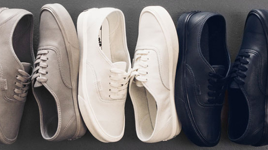 Vans Authentic Lite LX Leather Pack