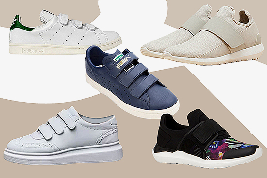 10 Velcro Sneakers That Will Bring Back Your Childhood