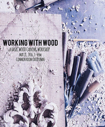 Working with Wood: Basic Wood Carving Workshop