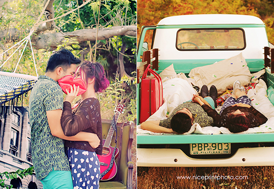 Yan Asuncion and Yeng Constantino Prenup Photoshoot