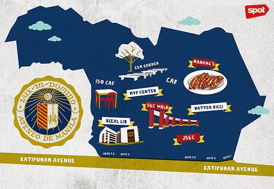4b335763dcf Campus Neighborhood Guide: Ateneo de Manila University