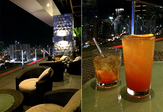 City Garden Grand's Rooftop Bar