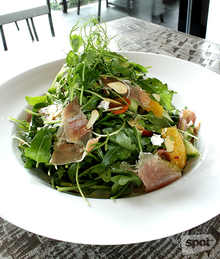 The Bourke Salad is both sweet and savory