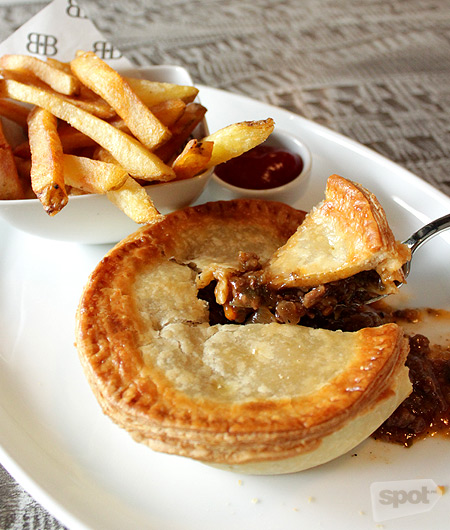 Pies are as ubiquitous in Australia as siopao is in Manila