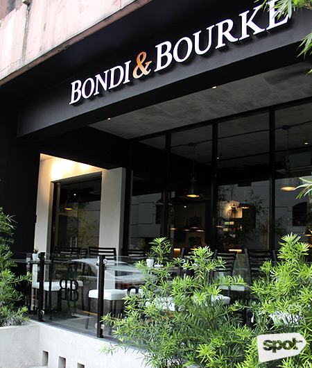 Bondi & Bourke Restuarant at Legazpi Village Makati