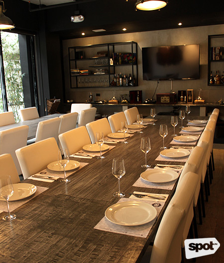 Bondi & Bourke's Roast Room with 24 seater enclave