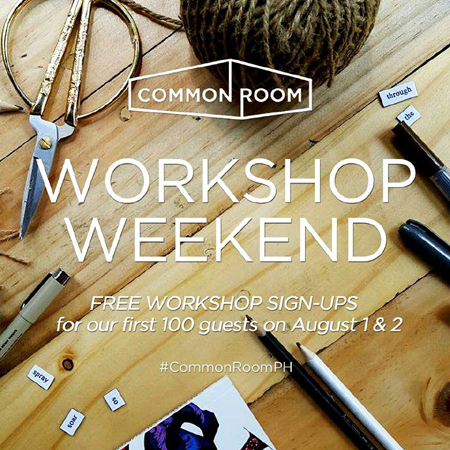 Common Room Workshop Weekend