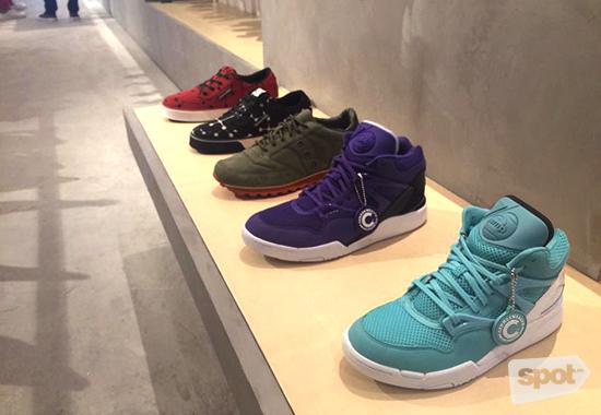 Commonwealth Sneakers Display