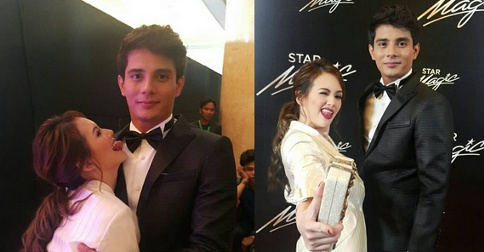 Ellen Adarna & Ejay Falcon at Star Magic Ball