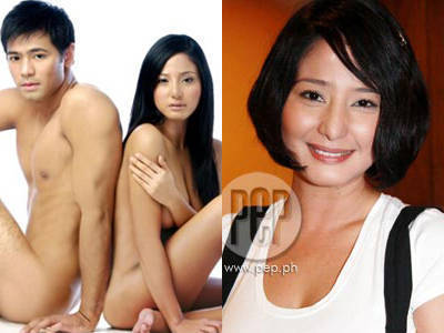 Katrina Halili, (left) pre- and (right) post- Sex Video Scandal