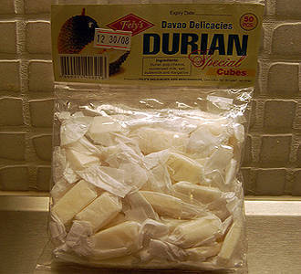 Durian Candy from Davao