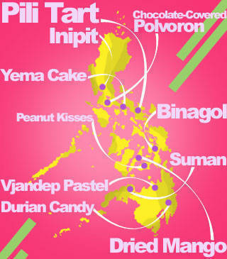 Pinoy Pasalubong Map