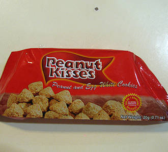 Peanut Kisses from Bohol