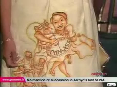 Anti-GMA statement on Rep. Liza Masa's katsa gown