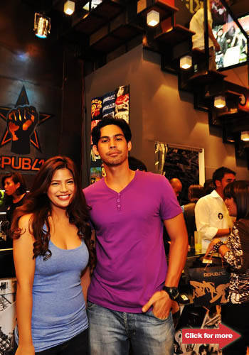 Denise Laurel and Paolo Paraiso