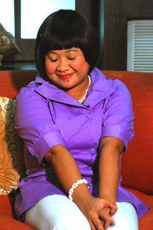 Eugene Domingo as the sweet and naive Kimmy.