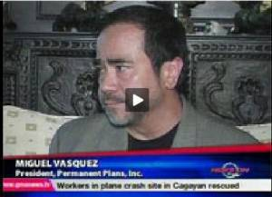 Video grab of Miguel Vazquez from gmanews.tv