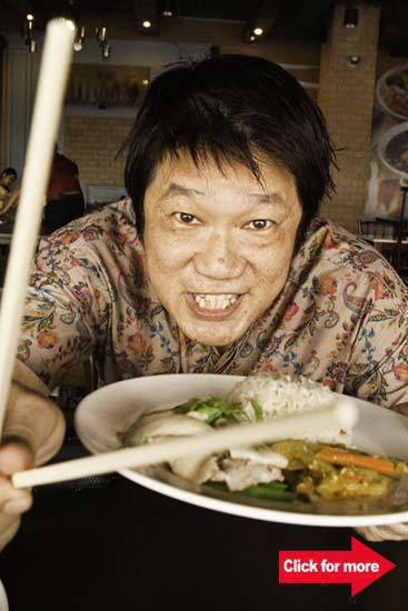 KF Seetoh's food guide, Makansutra, gives credence to the rich, street comfort food culture of Asia.