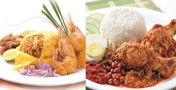 Phad Thai (left) and Nasi Lemak (right) are new on Secret Recipe's menu.