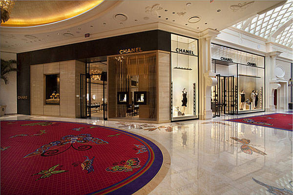 The Chanel boutique at the Wynn in Las Vegas