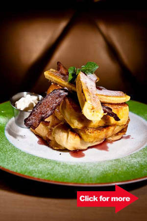 Menu stand-out: Challah French Toast (P295)