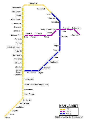 screencap of MRT-LRT diagram from UrbanRail.Net