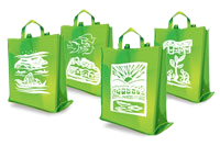 SM Green Bags