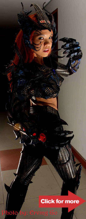 Grace Roldan as Witchblade