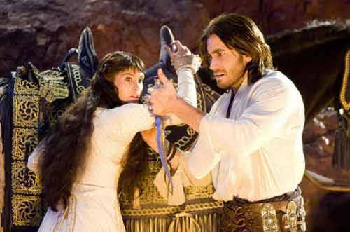 Gemma Arterton and Jake Gyllenhaal star in Prince of Persia.
