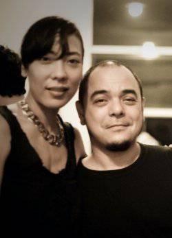 Carlos and wife Tesa Celdran