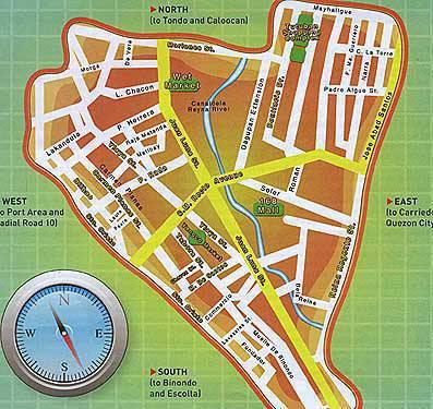 Alt Text: Divisoria Street Map
