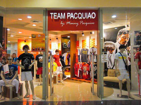 Team Pacquiao Store