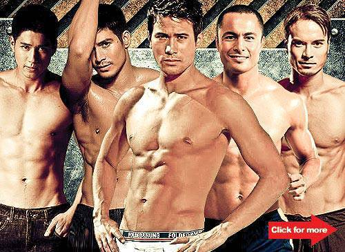 top 10 hottest male bodies in showbiz