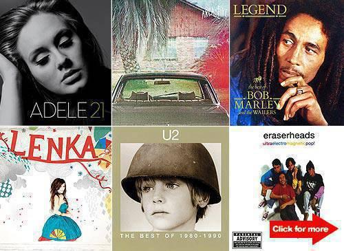 10 albums-holy week