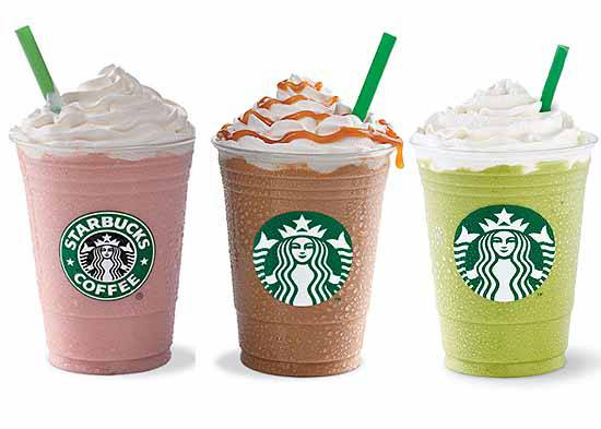 Check It Out Starbucks However You Want It Frappuccino