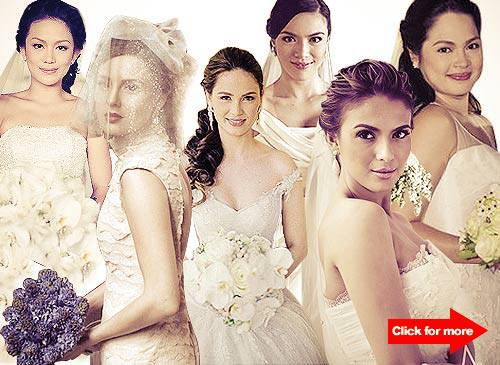 Top 10 Prettiest Celebrity Brides | SPOT.ph
