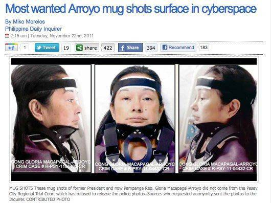 GMA mugshots on Inquirer website are authentic, confirms police