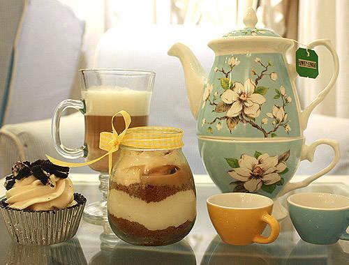 Vanilla Cupcake Bakery's Tea