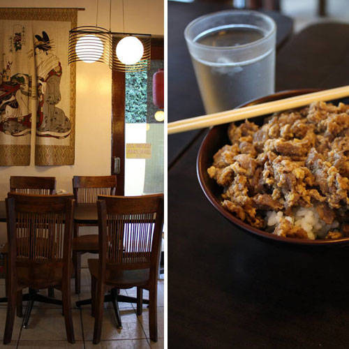 Go for Asian at CAFE DOZO