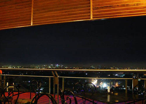Get some Good View of the City at Cafe Lupe