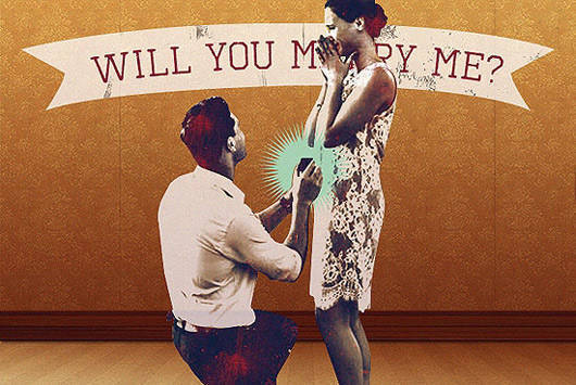 10 Creative Real Life Wedding Proposals On Youtube Spot