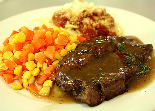 Eat and Go's Panseared U.S. Steak