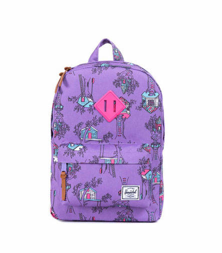 Heritage Backpack in Purple Fort for Kids